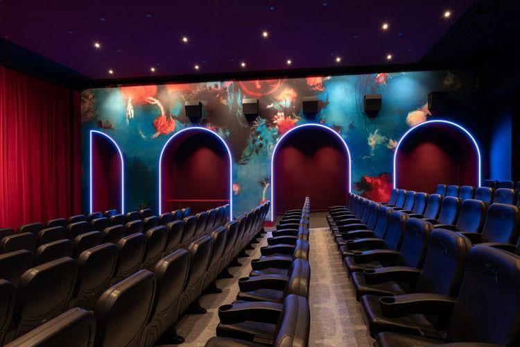 Bioskop Blauer Stern di Berlin Jerman