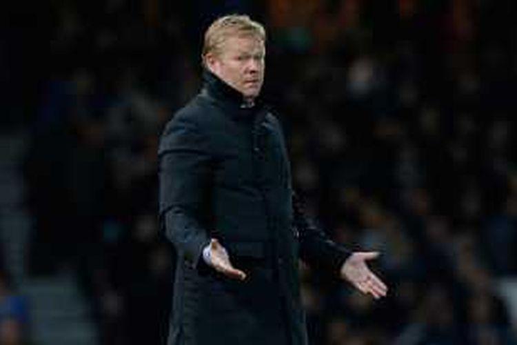 Manajer Everton, Ronald Koeman.