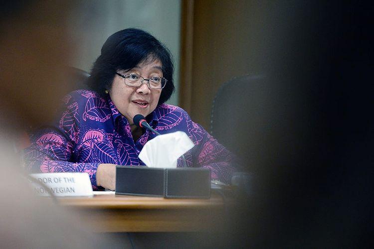 Menteri Kehutanan dan Lingkungan Hidup Siti Nurbaya.
