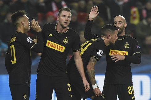 Slavia Praha Vs Inter, Lukaku Gemilang, Nerazzurri Menang