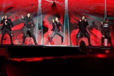 Penonton Histeris, Ada Aksi Lempar Pakaian Dalam di Konser Backstreet Boys