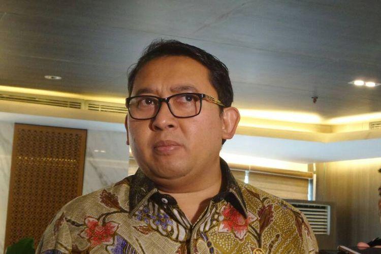 Wakil Ketua DPR RI Fadli Zon di Kompleks Parlemen, Senayan, Jakarta, Rabu (10/5/2017).