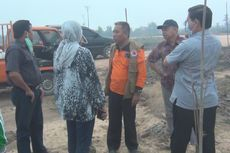 BPBD Sumsel Tambah 100 Personel Padamkan Api di Kebun Raya Sriwijaya