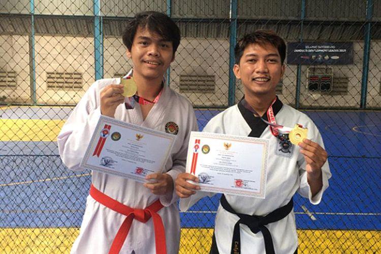 Dua mahasiswa Itenas berhasil raih medali dalam KTA World Wide Poomsae & Para Poomsae Championship 2020. (Dok. Itenas)