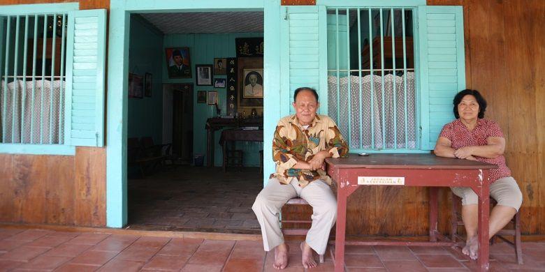 Cucu Djiauw Kie Siong, Yanto Djuhari (68) atau juga dikenal dengan nama Liauw Cing Lan yang kini mengelola rumah kakeknya di Rengasdengklok, Karawang, Jawa Barat. Djiau Kie Siong adalah pemilik rumah yang pernah disinggahi oleh Bung Karno dan Hatta sebelum proklamasi berlangsung.