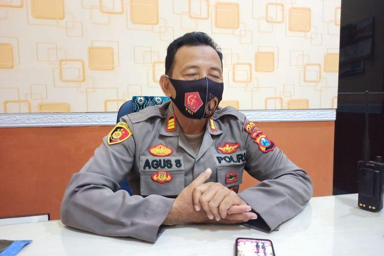 Kapolsek Patrang AKP Solikin Agus Wijaya