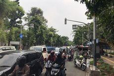 Mahasiswa Bergerak Menuju Istana, Lalu Lintas Lenteng Agung ke Pasar Minggu Macet