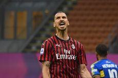 Yakin Pakai Nomor 9 AC Milan, Ibrahimovic?