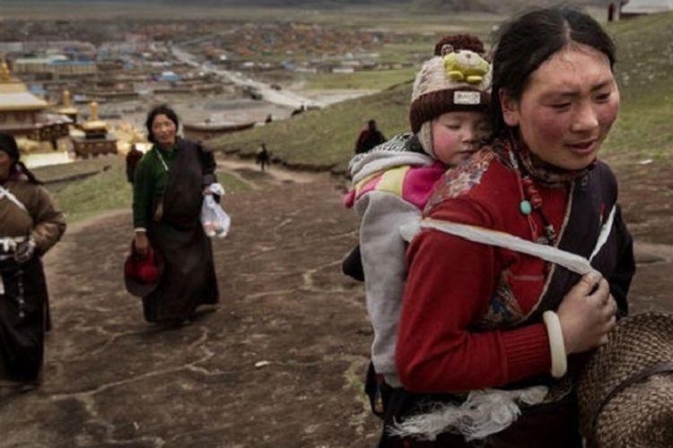 Sosok orang Tibet