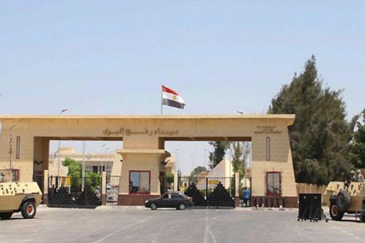 Pintu perbatasan Rafah adalah satu-satunya penghubung antara Mesir dan Jalur Gaza.