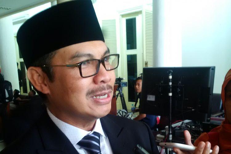 Bupati Kulon Progo, Hasto Wardoyo, ketika ditemui di Jalan Malioboro, Kota Yogyakarta, Kamis (3/8/2017)