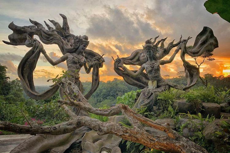 Taman Dedari, Ubud, Gianyar, Bali DOK. Pengelola Taman Dedari