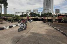 Banjir Surut, Underpass Kemayoran Sudah Dapat Dilintasi Kendaraan