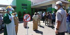 RSUD Batang Tambah 50 Persen Kapasitas Penanganan Covid-19, Ganjar: Sudah Bagus