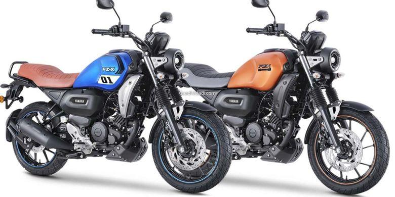 Yamaha FZ-X dengan gaya neo retro seperti XSR 155