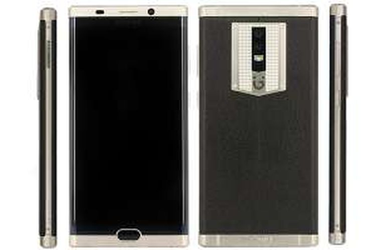 Smartphone M2017 buatan Gionee yang memiliki baterai berkapasitas 7.000 mAh.