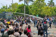 Demo Tolak Omnibus Law di Tegal Ricuh, 3 Orang Terluka