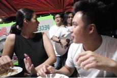 Baim Paula Rayakan Satu Tahun Pernikahan di Warung Pecel Lele