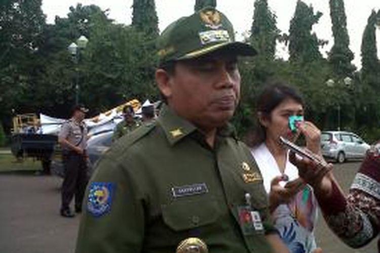 Wali Kota Jakarta Pusat Saefullah.
