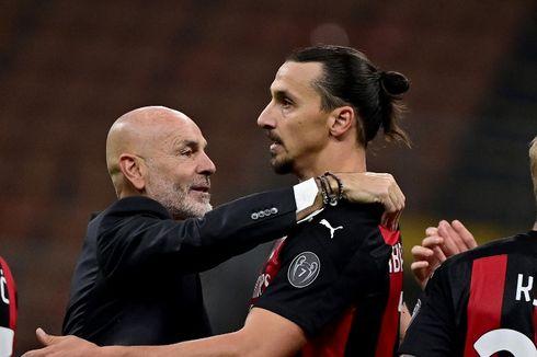 AC Milan Vs Roma, Ujian Berat Menunggu Zlatan Ibrahimovic dkk