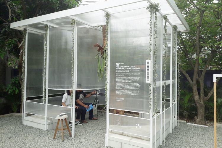 8M Urban Installation, Shelter Refleksi by SOSJ DEsign, BItte, Antikode