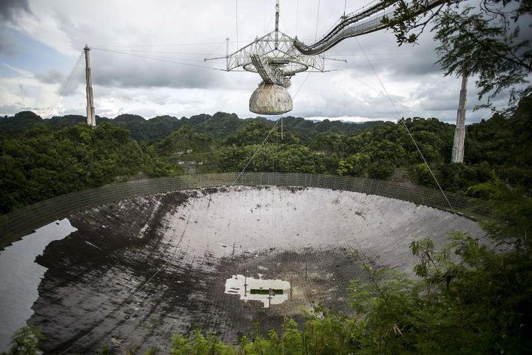 Observatorium Arecibo pasca badai Maria