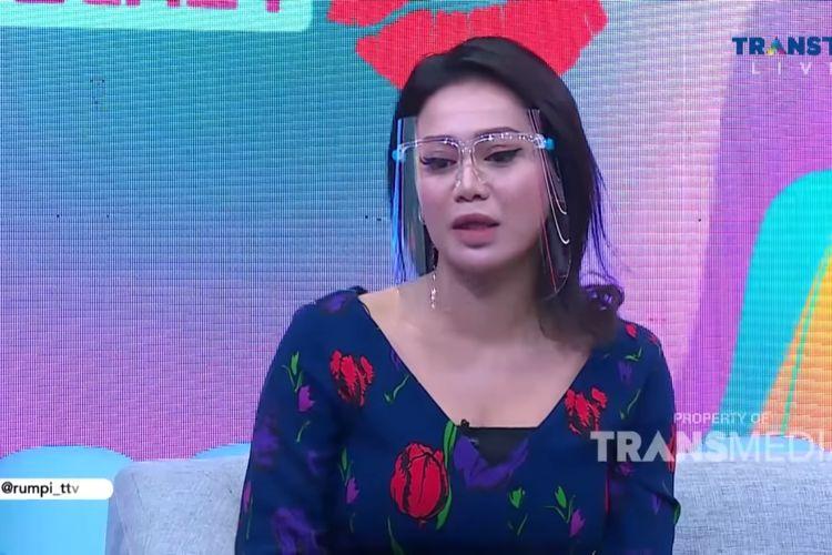 Vicky Zainal saat jadi bintang tamu di Talkshow Rumpi