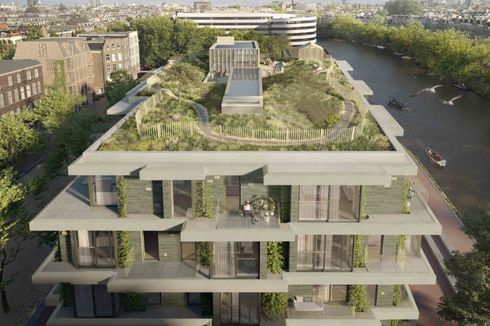 Apartemen Ini Dilengkapi Bukit Pasir