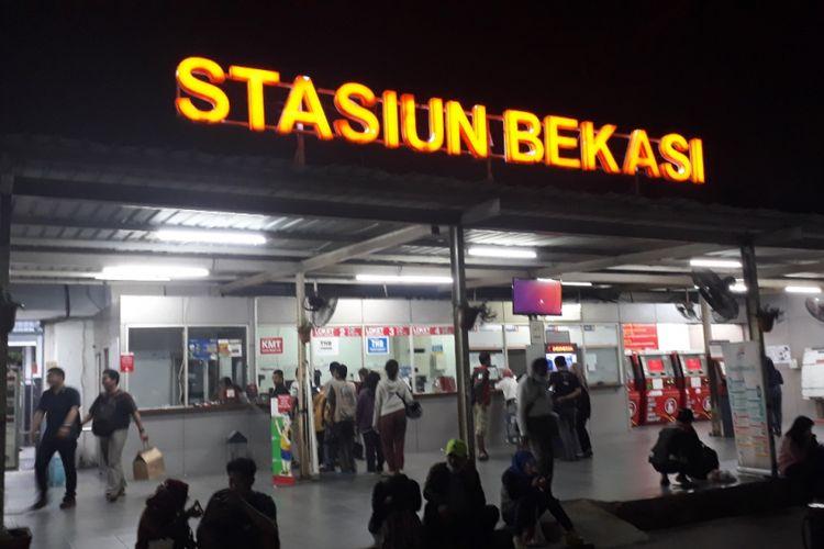 Sempat padam, listrik di Stasiun Bekasi, Jalan Ir. Juanda, Kota Bekasi kembali normal, Rabu (5/9/2018).