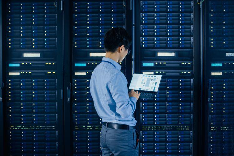 Ilustrasi ruang server