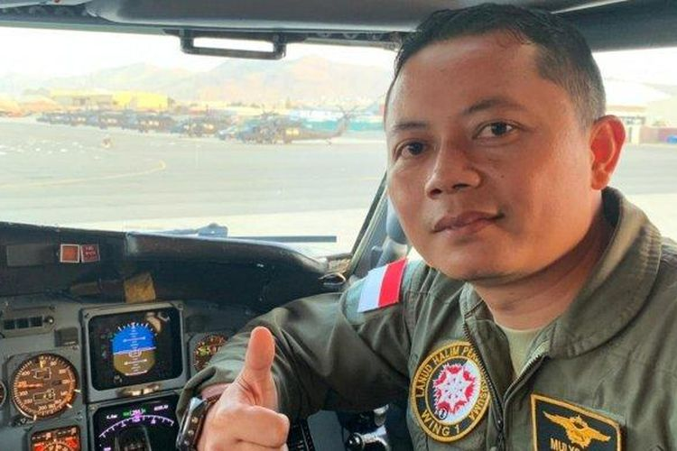 Penerbang Skadron Udara 17 Mayor Pnb Mulyo Hadi