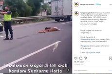 Menyeberang di Jalan Tol Sedyatmo, Wanita Lansia Tewas Ditabrak
