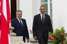 Obama Desak Sekutu Eropa Tingkatkan Belanja Pertahanan