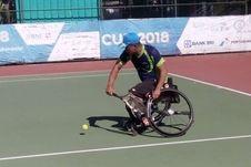 Kisah Mantan Paspampres yang Diamputasi, Bangkit Kembali berkat Tenis dan Pusrehab Kemhan