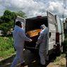 Angka Kematian akibat Covid-19 di Brazil Tertinggi Ketiga di Dunia, Ini Kisah Pengantar Jenazah