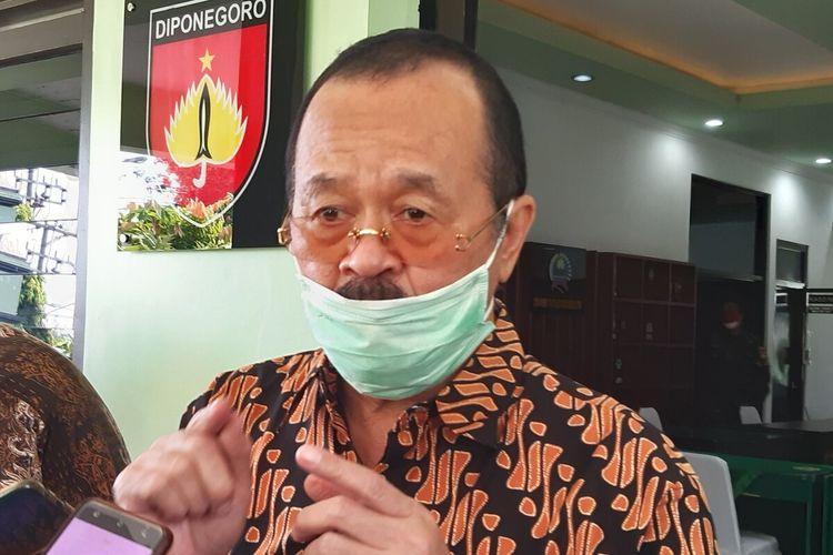 Wakil Wali Kota Solo yang juga ditugaskan sebagai bakal calon Wali Kota Solo di Pilkada Serentak 2020, Achmad Purnomo.