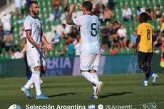 Argentina Vs Ekuador, Tim Tango Menang Telak Tanpa Messi