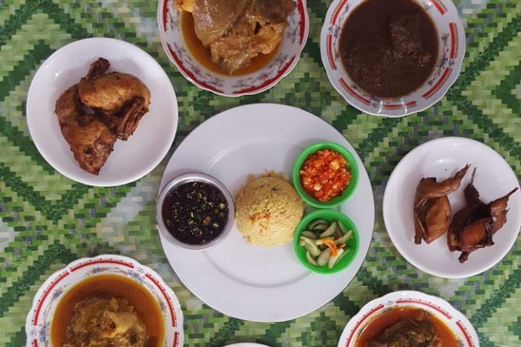Nasi minyak Palembang dan menu hidangannya