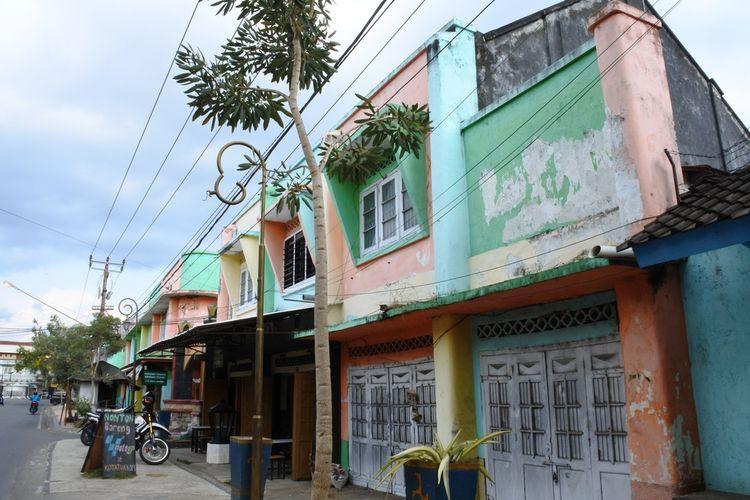 Bangunan Tua Bergaya Art Deco ala Belanda di Kota Tua Ampenan