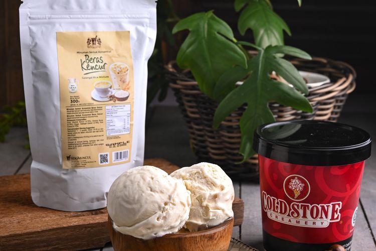 Rangkaian es krim'Indonesian Heritage' dari Cold Stone Creamery dirilis dalam rangka memperingati 76 tahun Kemerdekaan Republik Indonesia.
