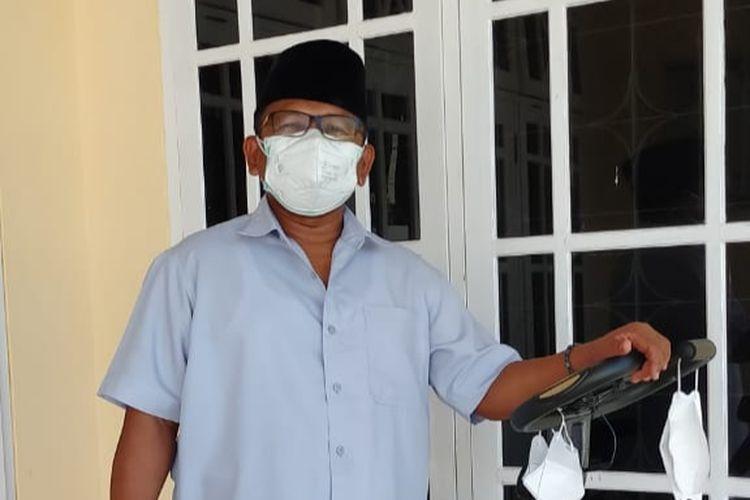 Wakil Bupati Sugirah menjalani isolasi mandiri di rumah dinas.