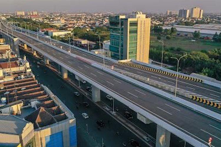 Enam ruas Jalan Tol Dalam Kota Segmen Kelapa Gading - Pulo Gebang