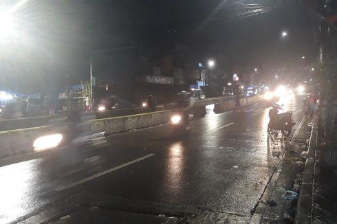 Banjir Surut, Lalu Lintas di Jalan Jatinegara Barat Kembali Lancar