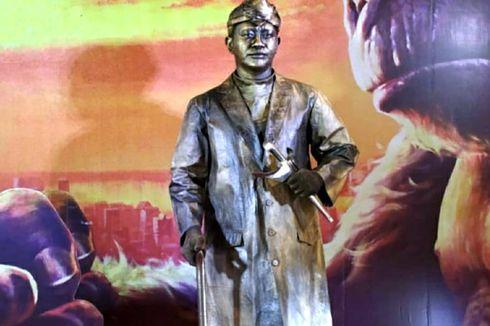 Kerinduan Idris Si Manusia Patung, Kenang Ramainya HUT RI di Kota Tua Sebelum Pandemi...