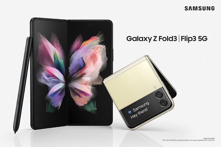 Galaxy Z Fold3 dan Galaxy Z Flip3