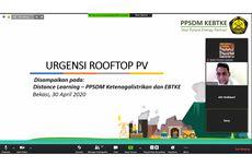 Dukung Bauran Energi Baru Terbarukan, PPSDM KEBTKE Selenggarakan Pelatihan Jarak Jauh Instalasi Rooftop PV untuk Rumah Tinggal