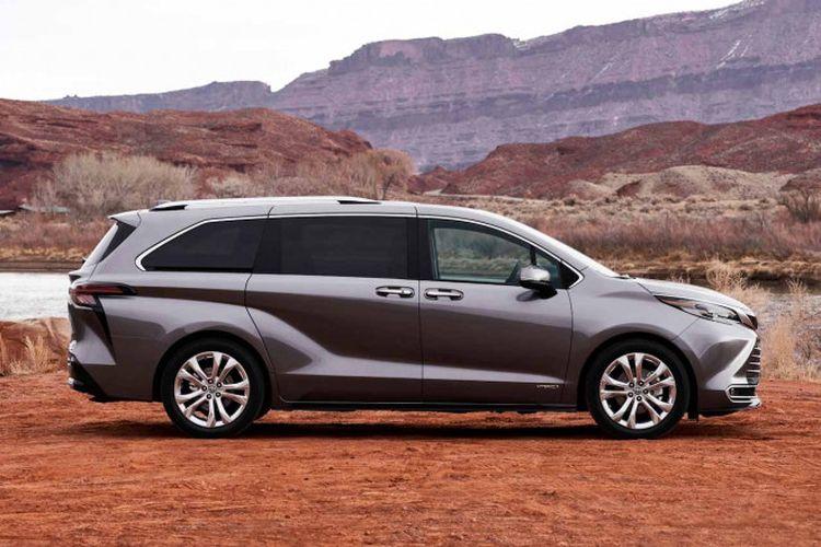 Toyota Sienna generasi keempat yang meluncur di Amerika Serikat.