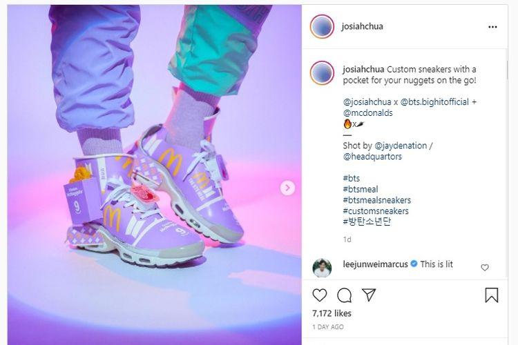 BTS Meal Sneaker