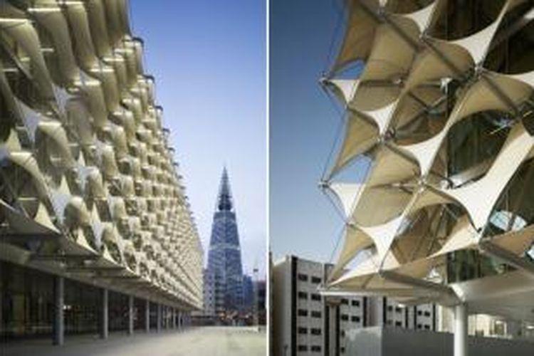 Perpustakaan Nasional Raja Fahd, Riyadh, Saudi Arabia.