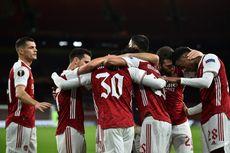 Hasil Arsenal Vs Dundalk, The Gunners Menang Telak 3-0